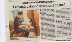 article Crestois